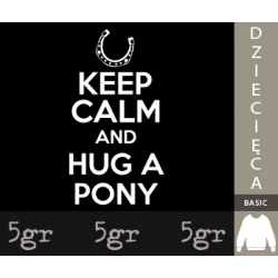 KEEP CALM AND HUG A PONY