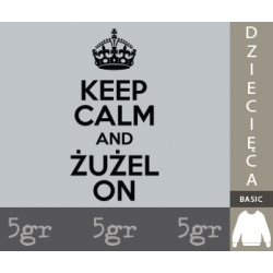 KEEP CALM AND ŻUŻEL ON