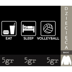 EAT SLEEP VOLLEYBALL