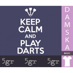 KEEP CALM AND PLAY DARTS
