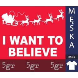 I WANT TO BELIEVE IN SANTA CLAUS