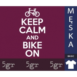 KEEP CALM AND BIKE ON