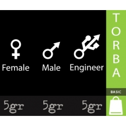 FEMALE MALE ENGINEER