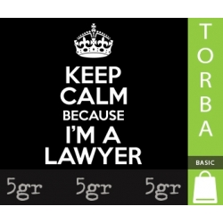 KEEP CALM BECAUSE I'M A LAWYER