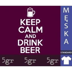 KEEP CALM AND DRINK BEER