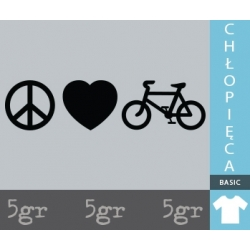 PEACE LOVE BIKE