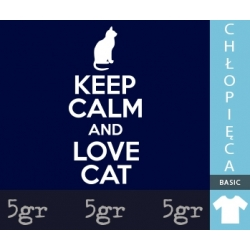 KEEP CALM AND LOVE CAT