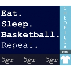 EAT SLEEP BASKETBALL REPEAT