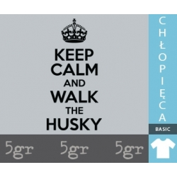 KEEP CALM AND WALK THE HUSKY